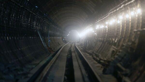 Тоннель метро, архивное фото - Sputnik Беларусь