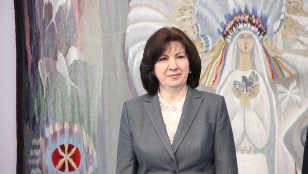 Председатель Совета республики Национального собрания Наталья Кочанова - Sputnik Беларусь