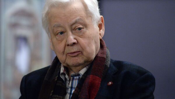 Художественный руководитель МХТ имени А.П. Чехова Олег Табаков  - Sputnik Беларусь