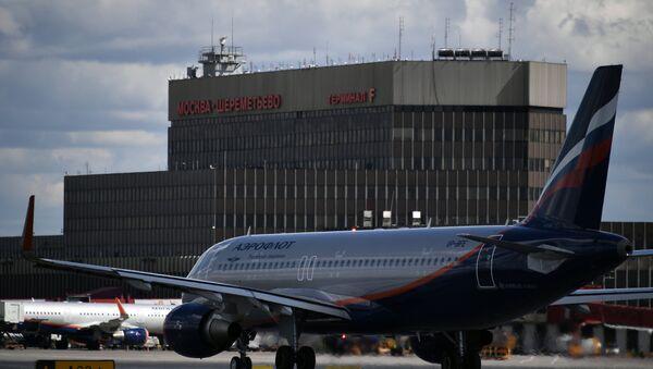 Аэрапорт Шарамеццева - Sputnik Беларусь