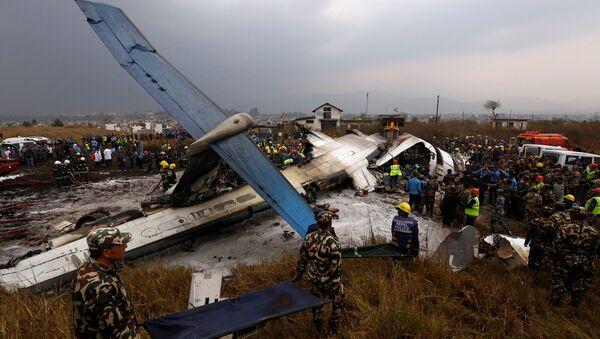 Крушение самолета в Катманду - Sputnik Беларусь