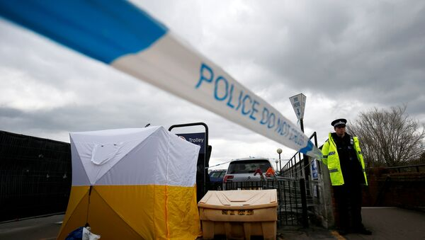Полиция в Солсбери, где отравили Сергея Скрипаля - Sputnik Беларусь
