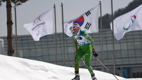 Белорусская спортсменка Светлана Сахоненко - Sputnik Беларусь