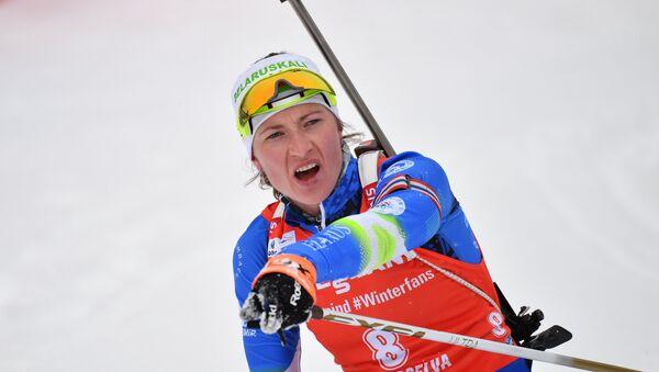 Четырехкратная олимпийская чемпионка Дарья Домрачева - Sputnik Беларусь