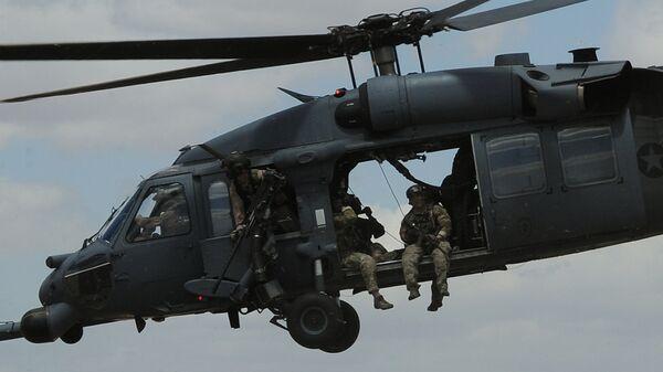 Боевой вертолет ВВС США HH-60 Pave Hawk  - Sputnik Беларусь