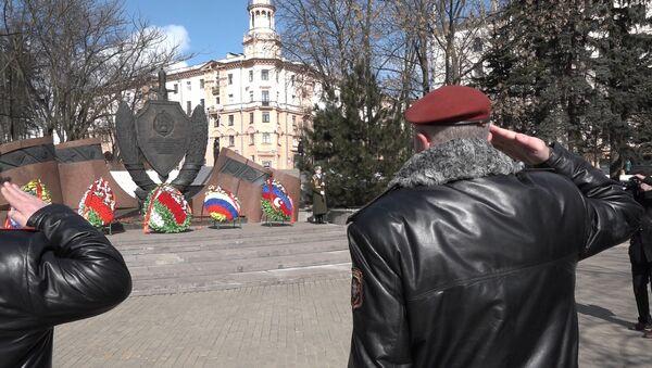 Церемония в честь столетия внутренних войск МВД прошла в Минске - Sputnik Беларусь