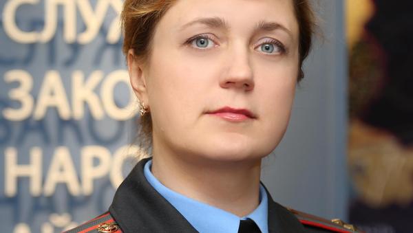 Официальный представитель УВД Витебского облисполкома Ольга Шкуратова  - Sputnik Беларусь