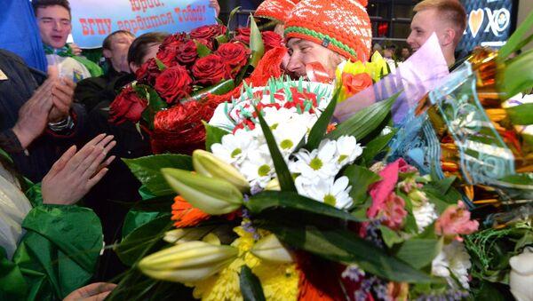 Долгожданная встреча получилась душевной - Sputnik Беларусь
