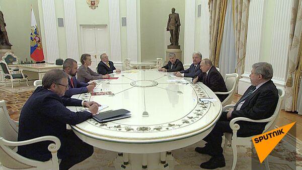 Путин встретился с кандидатами - Sputnik Беларусь