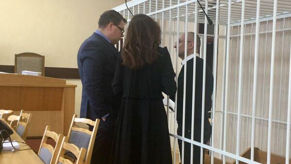 Александр Муравьев перед началом судебного процесса - Sputnik Беларусь