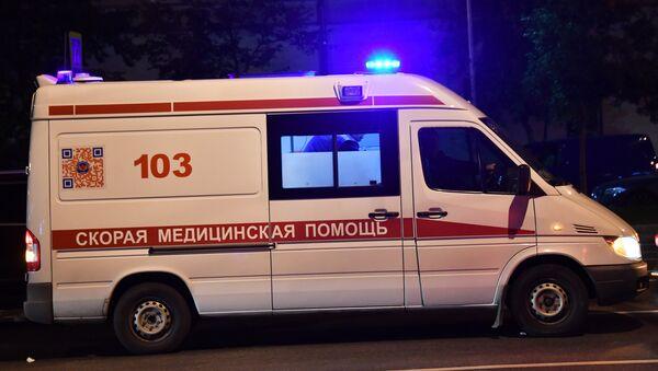 Автомобиль скорой медицинской помощи в России, архивное фото - Sputnik Беларусь