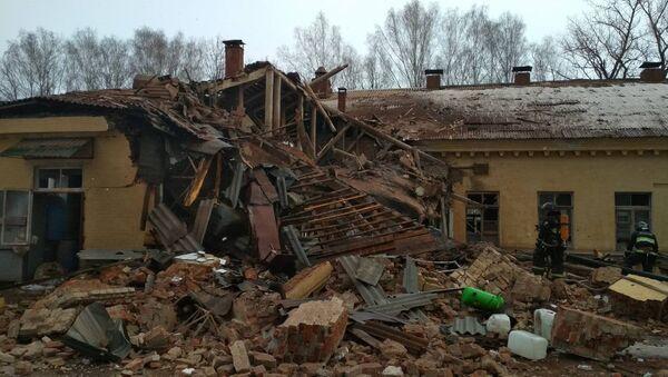 Место взрыва в деревне Станьково - Sputnik Беларусь