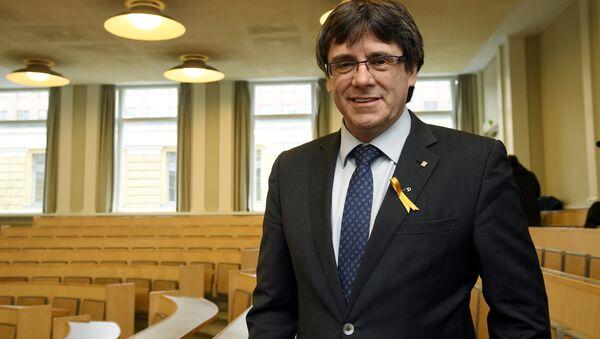Экc-глава каталонского женералитета Карлес Пучдемон - Sputnik Беларусь