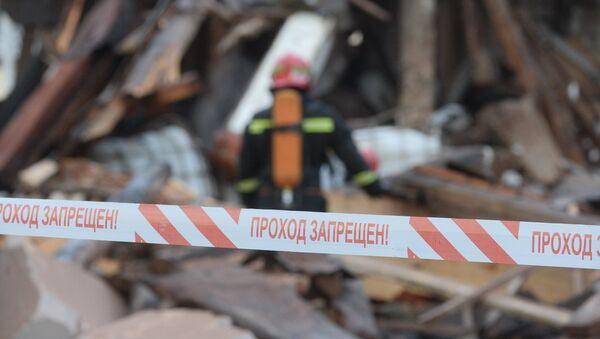 Проход запрещен на место происшествия, архивное фото - Sputnik Беларусь