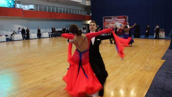 Адкрытыя Чэмпіянаты і Першынства па спартыўных бальных танцах - Sputnik Беларусь