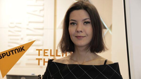 Политолог Надана Фридрихсон - Sputnik Беларусь