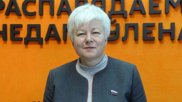 Член Камітэта Савета Федэрацыі Расіі па міжнародных справах Вольга Цімафеева - Sputnik Беларусь