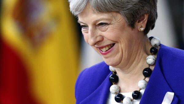 Британский премьер-министр Тереза Мэй - Sputnik Беларусь