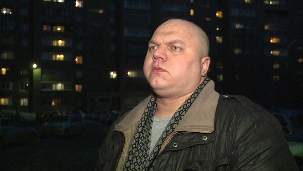 Мужчына цудам вывеў сваю сям'ю з ГЦ ў Кемерава - Sputnik Беларусь