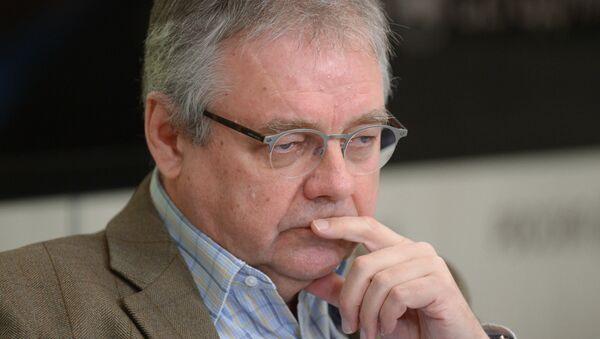 генеральный директор радиостанции Говорит Москва Владимир Мамонтов - Sputnik Беларусь