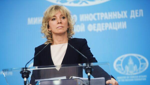 Официальный представитель МИД РФ Мария Захарова - Sputnik Беларусь