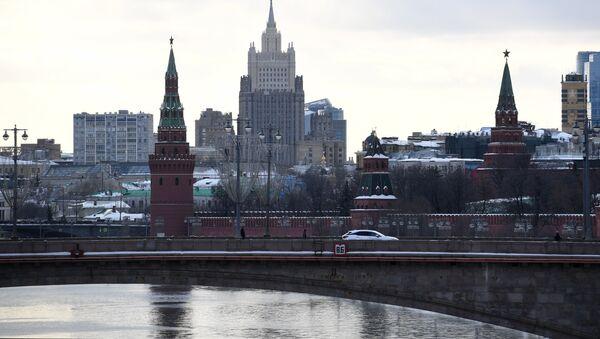 Здание министерства иностранных дел РФ в Москве - Sputnik Беларусь