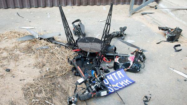 Выпрабавальны палёт дрона Пошты Расіі - Sputnik Беларусь