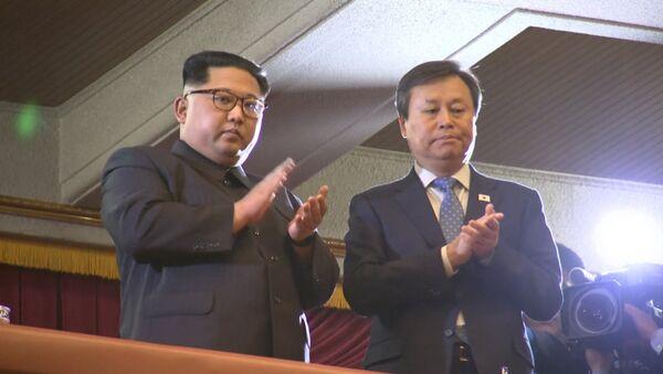 Южнокорейская группа выступила в Пхеньяне - Sputnik Беларусь