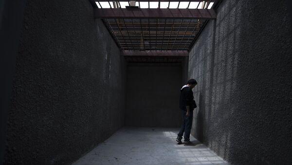 Заключенный в колонии, архивное фото - Sputnik Беларусь