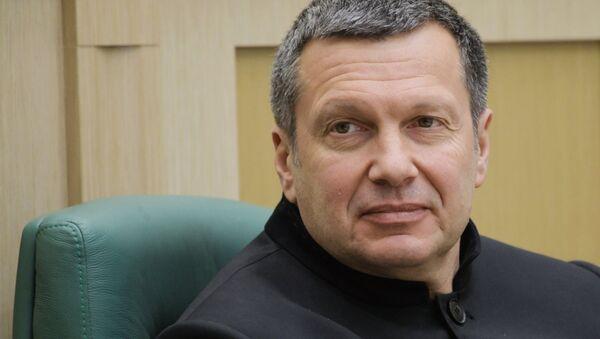 Журналист, теле- и радиоведущий Владимир Соловьев - Sputnik Беларусь
