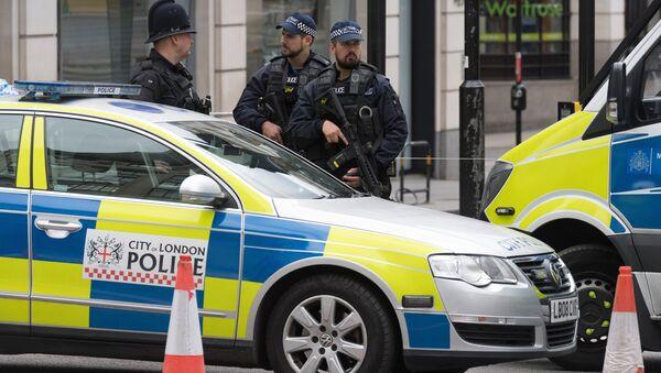 Полицейский кордон в Лондоне, архивное фото - Sputnik Беларусь
