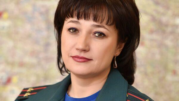 Официальный представитель Минского городского управления МЧС Марина Фандо   - Sputnik Беларусь