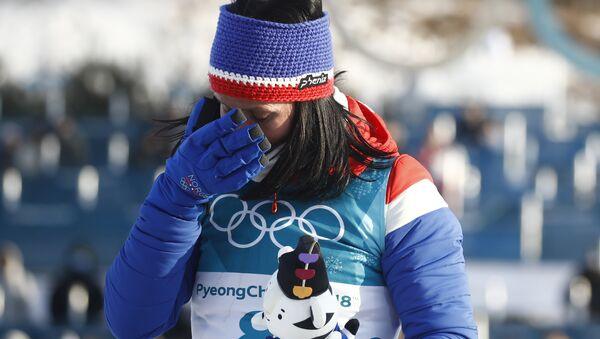 Восьмикратная олимпийская чемпионка Марит Бьорген - Sputnik Беларусь