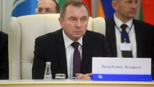 Министр иностранных дел Беларуси Владимир Макей, архивное фото - Sputnik Беларусь