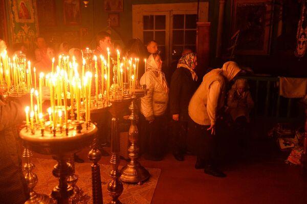 Велікодныя набажэнствы прайшлі напярэдадні не толькі ў Беларусі, але і ва ўсім праваслаўным свеце - Sputnik Беларусь