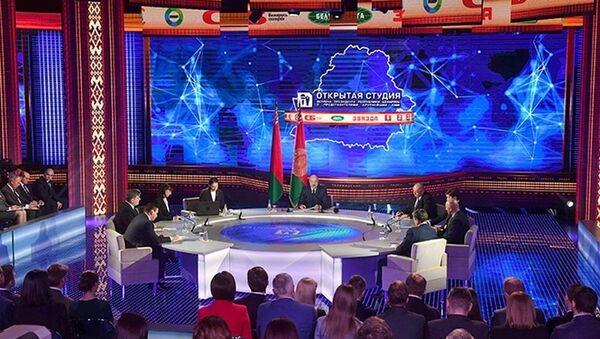 Сустрэча прэзідэнта Аляксандра Лукашэнкі з прадстаўнікамі найбуйнейшых СМІ - Sputnik Беларусь