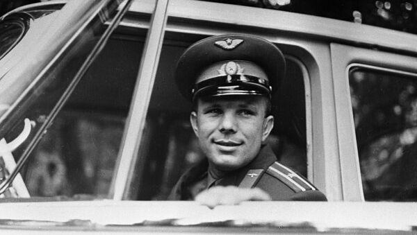 Юрый Гагарын, архіўнае фота - Sputnik Беларусь