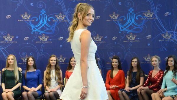 Финалистки конкурса Мисс Беларусь начали готовиться к шоу - Sputnik Беларусь