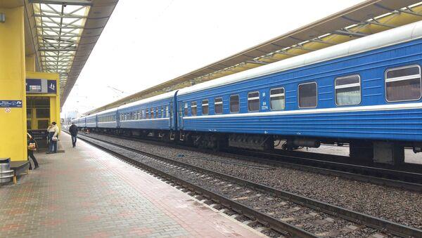 Поезд Белорусской железной дороги - Sputnik Беларусь