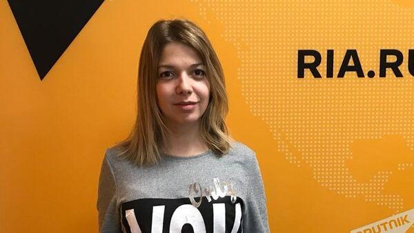 Псіхолаг, спецыяліст па псіхасаматыцы Марыя Малышава - Sputnik Беларусь