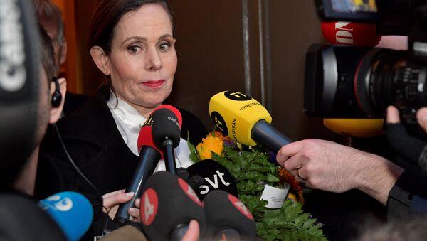 Секретарь Шведской академии наук Сара Даниус - Sputnik Беларусь