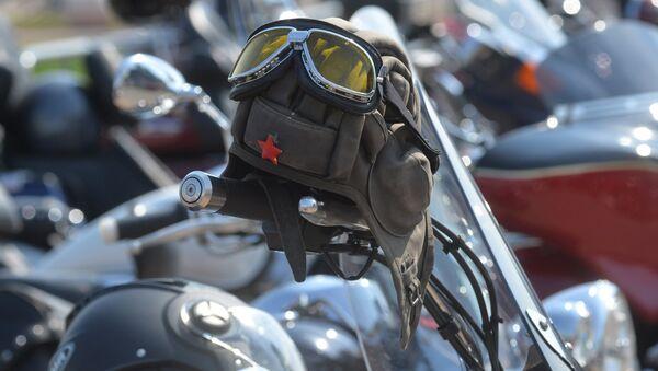 Мотоэкипировка - танкистский шлем со звездой - Sputnik Беларусь