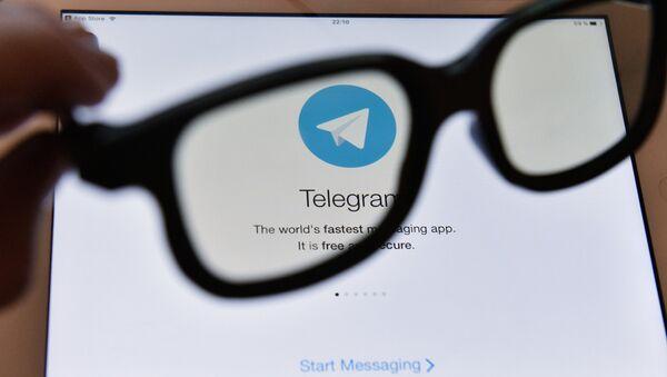 Лагатып месенджэра Telegram - Sputnik Беларусь