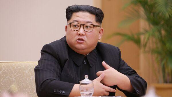 Председатель КНДР Ким Чен Ын - Sputnik Беларусь