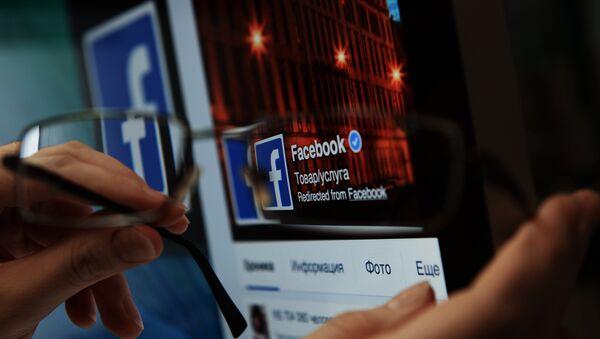 Страница социальной сети Фейсбук - Sputnik Беларусь