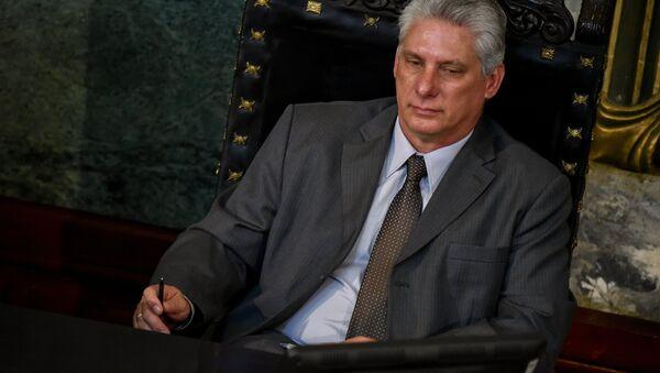 Мигель Диас-Канель сменил Рауля Кастро в качестве лидера Кубы - Sputnik Беларусь