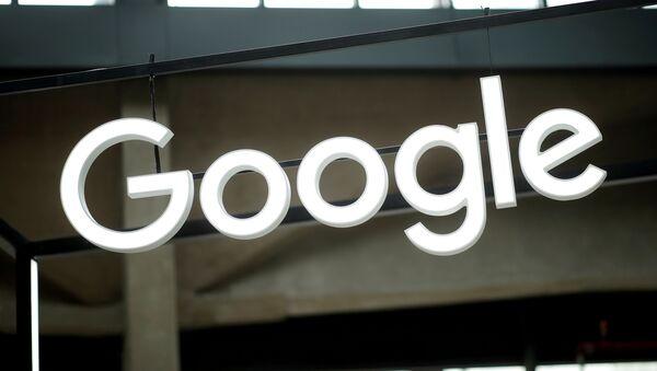 Лагатып кампаніі Google - Sputnik Беларусь