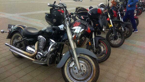 Мотоциклы на площади в Витебске - Sputnik Беларусь
