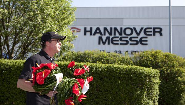 Павільён Hannover Messe - Sputnik Беларусь