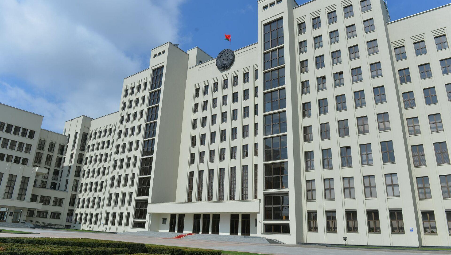 Дом правительства, архивное фото - Sputnik Беларусь, 1920, 28.04.2021